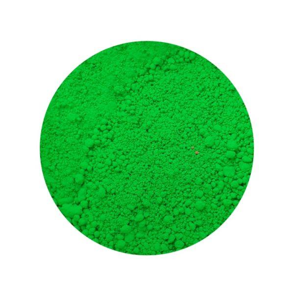 Pigmento neón verde
