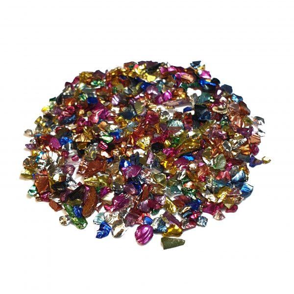 Piedras mic color nacar