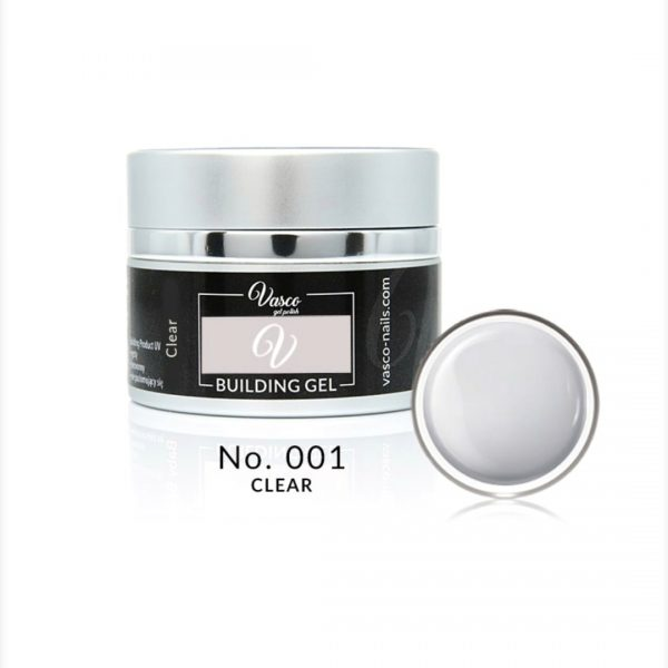 Building gel clear 15ml vasco