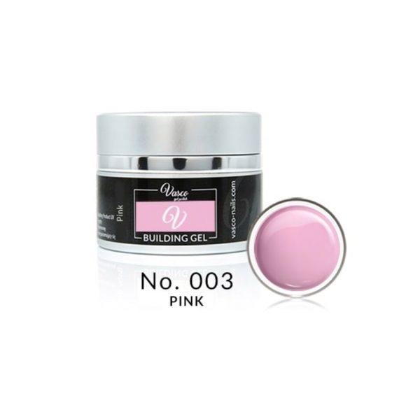Building gel pink 15ml Vasco