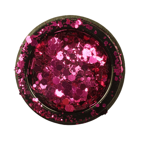 Holográfico-glitter-mix-fucsia
