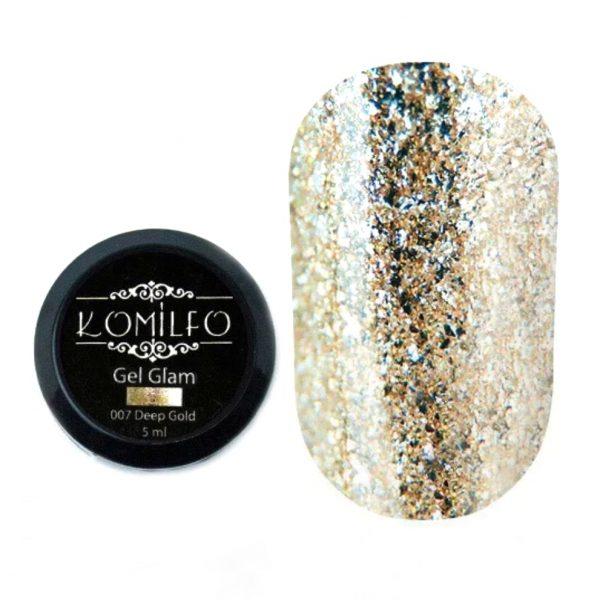 Painting gel oro intenso 5ml Komilfo
