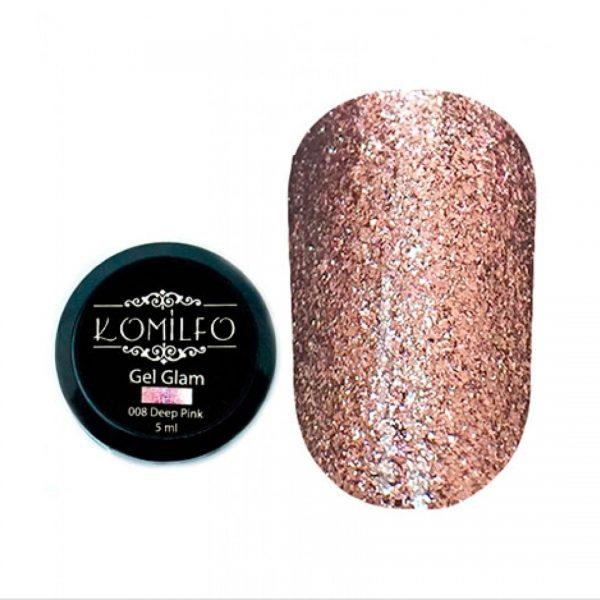 Painting gel rosa oscuro 5ml Komilfo