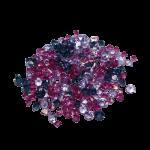 Brillantes-medianos-violeta-forma-cónica