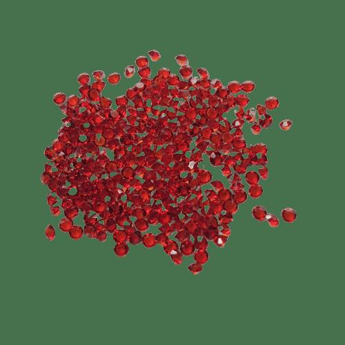 Brillantes-rojos-forma-cónica