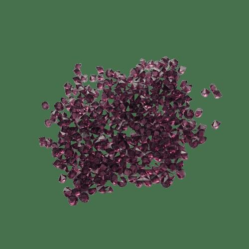 Brillantes-violetas-forma-cónica