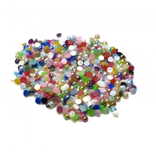Perlas mimi multicolores
