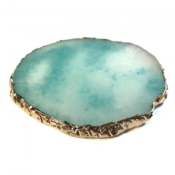 Piedra mezcla azul