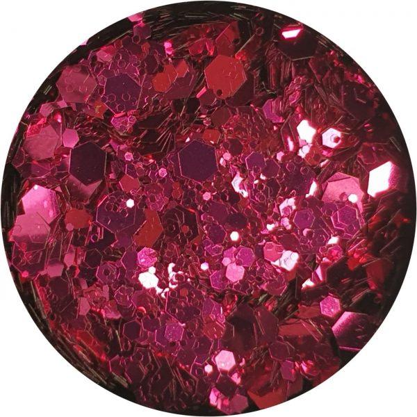 Holographic-Glitter-Fucshia